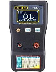 MESR-100 V2 ESR Meter,KKnoon ESR Tester MESR-100 Circuit Tester Auto Ranging in Circuit ESR LCR Meter Low Ohm Meter Measuring Capacitance Resistance Circuit Tester Support in Circuit Testing