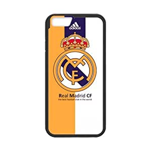 iPhone 6 Case, [Real Madrid CF] iPhone 6 (4.7) Case Custom Durable Case Cover for iPhone6 TPU case(Laser Technology)