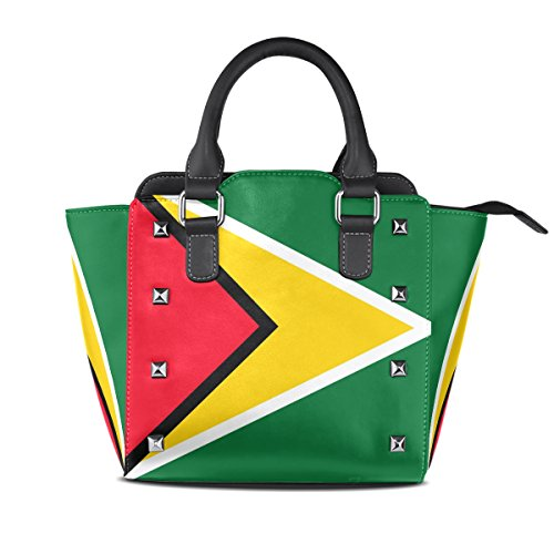 LIANCHENYI - Bolso de tela de Cuero De La Pu para mujer multicolor Talla única