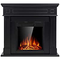 JAMFLY Electric Fireplace Mantel Package