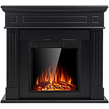 Amazon Com Ameriwood Home Chicago Electric Fireplace Tv