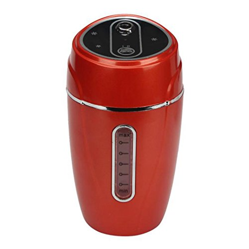 DEESEE(TM) Auto Mini USB Home Humidifier Air Purifier Freshener Car Portable (Red)