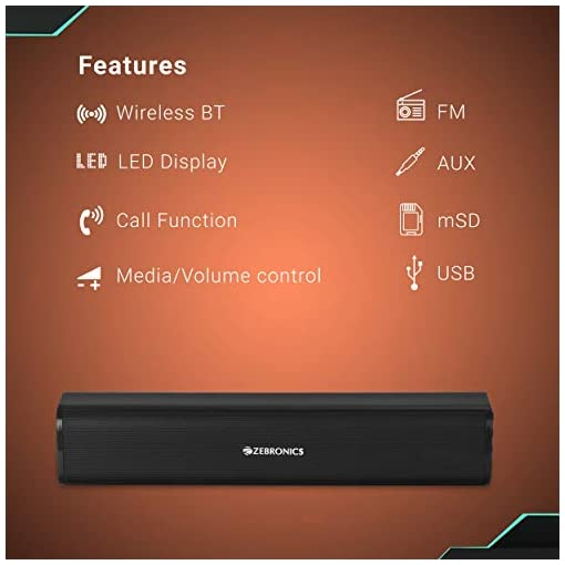 Zebronics Vita Plus Portable Speaker