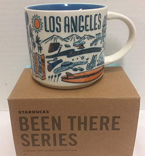 Starbucks Coffee Mug - Been There Series Across The Globe (Los ()