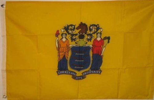 2x3 New Jersey State Flag - - - NJ - US USA American Flags by WILDFLAGS (Garden Store Nj)