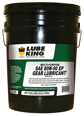 - Lube King LU18905P 5 Gallon44; 80W90 Multi-Purpose Gear Lubricant Oil