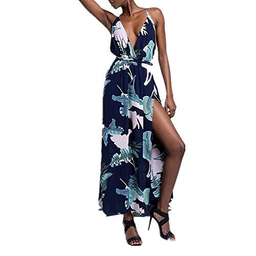 Isbxn Vestido Elegante sin Tirantes Atractivo de la Playa señoras de la Playa de Las Mujeres (Color : Green, Size : XL) Green