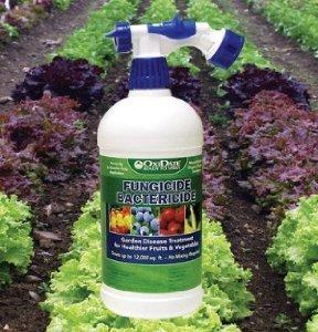 David's Garden Seeds Organic Foliar Fungicide Ready to Use Spray, 32 Ounces