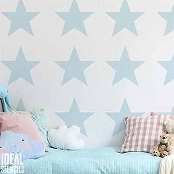Stern Kinderzimmer Wand Schablone Kinderzimmer Heim Wand Dekoration Kunst U0026  Handwerk Schablone Wandfarbe Stoffe U0026 Möbel