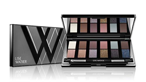 Lise Watier Smokey Nudes 12-Colour Eyeshadow Palette, 0.42 oz