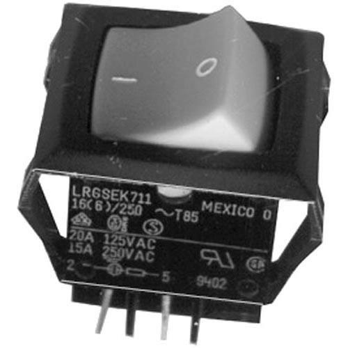 C Cretors 5130 Switch On/Off Rocker W/Amb Light On/Off For C Cretors Popcorn Machine 421740 by C Cretors and Company