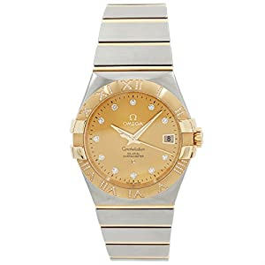 Omega Constellation automatic-self-wind mens Watch 123.25.35.20.58.002 (Certified Pre-owned)