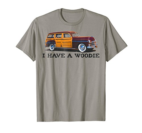 I Have A Woodie Shirt Men Women Youth Surf Wagon Car TShirt