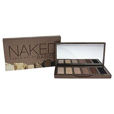 Urban Decay Naked Basics Eyeshadow Palette 6 X 0.05oz Venus, Foxy, Walk Of Shame, Naked2, Faint, Crave For Women
