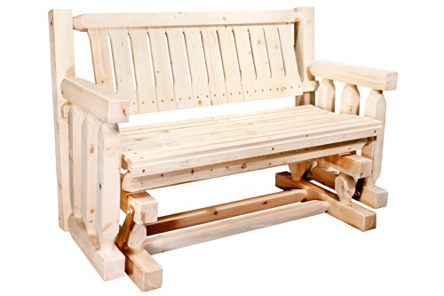 Cheap Montana Woodworks MWHCLGNR Homestead Collection Glider, Ready to Finish