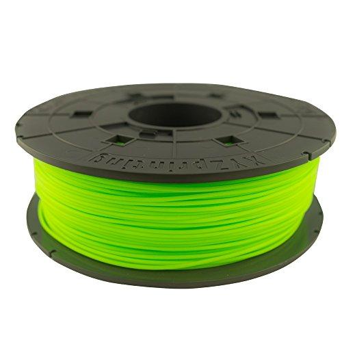 Bobine de filament PLA, 600g, Neon Vert pour imprimante 3 D Junior Mini et nano