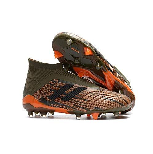 GAOXP Bottes de Football pour Hommes Crampons Hauts Chaussures de Football Gar/çons Chaussures dentra/înement Chaussures de Football en Plein air Sneakers Enfants Bottes de Rugby Junior