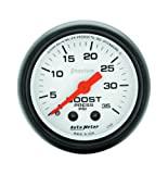 Auto Meter 5704 Phantom Mechanical Boost Gauge by Auto Meter