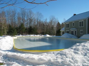 Nicerink 20' X 40' Backyard Ice Rink Kit by NiceRink