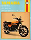 HAYNES 1975-1979 YAMAHA MOTORCYCLE RD 400 TWIN 398 CC SERVICE MANUAL (333)