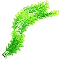 """Artificial Anacharis Aquarium Plant - 12"""" Tall with Weighted Base"""