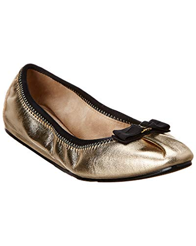 Salvatore Ferragamo Women's Joy Ballet Flat Mekong Nappa Silk 7 C US
