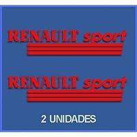 Ecoshirt 0L-NZBQ-S4SC Pegatinas Renault Dr03 Vinilo Adesivi Decal