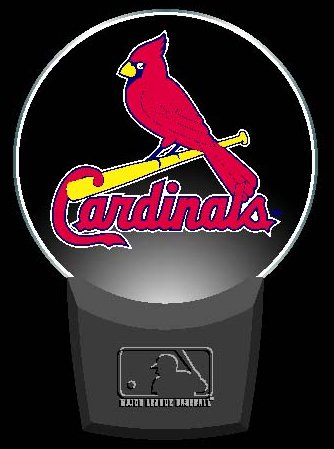Louis Cardinals Night Light - Authentic Street Signs St. Louis Cardinals Night Light