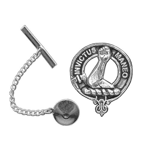 Armstrong Scottish Clan Crest Tie Tack/ Lapel Pin by Celtic Studio