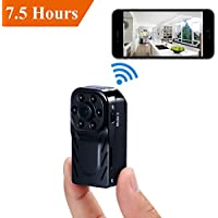 Mini Hidden Camera - Lenofocus Spy Camera Wireless Wifi 720P/1080P HD Nanny Cam Security Video Cameras Night Vision Motion Activated Spy Hidden Cam for Home and Office