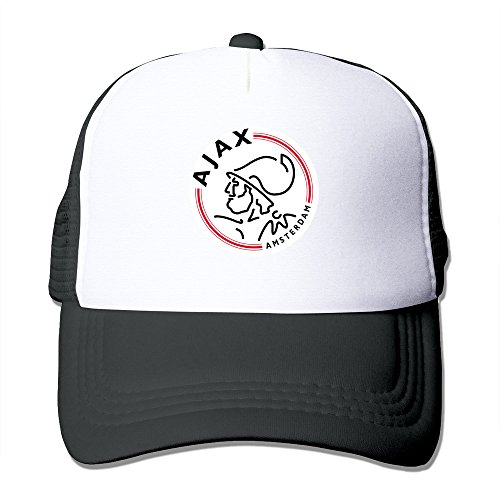 Price comparison product image Black HGLENice Ajax Unisex Adjustable Baseball Mesh Cap One Size