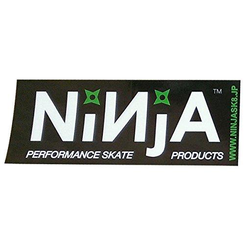 NINJA ステッカー NINJA 大 ホワイト