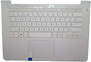 RTDpart Teclado blanco PalmRest&Blanco para portátil LG ...