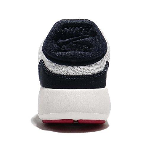 Nike sportswearair Max Modern Flyknit–Zapatillas Bajas–Sail/Obsidian/Wolf Grey/university red/white