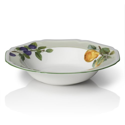 Mikasa Antique Orchard Vegetable Serving Bowl, - Pasta Bowl Sage