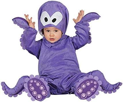 Fiestas Guirca Costume Polpo Bimbo Travestimento Baby Neonato Polipo