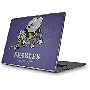 Skinit Seabees Can Do MacBook Pro 15 (2011-2012) Skin - Officially Licensed US Navy Laptop Decal - Ultra Thin, Lightweight Vinyl Decal Protection from Skinit
