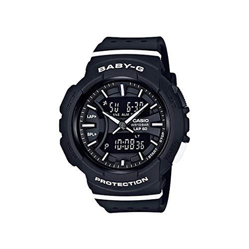 Casio Baby G Digital Dial Polyurethane Strap Ladies Watch BGA-240-1A1 (Watch Baby G Dial)