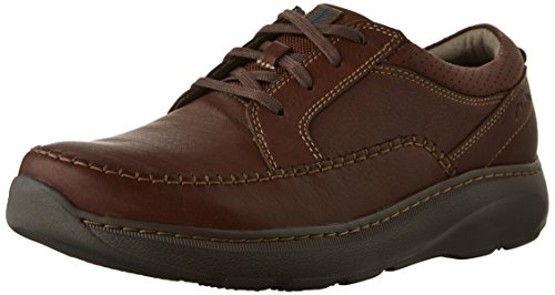 Clarks Mens Charton Vibe Oxford Brown