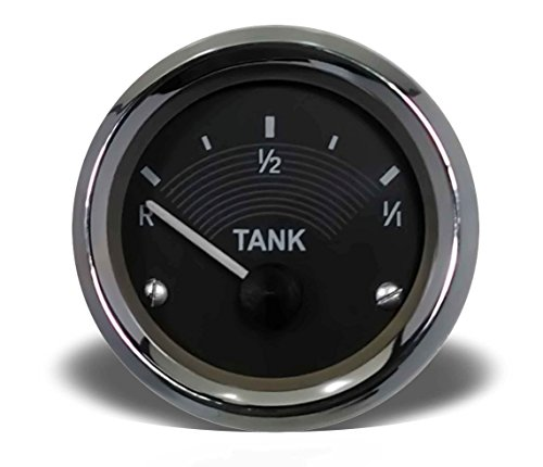 New VW Bus Fuel Gauge 12V Reproduction Deluxe Microbus Kombi Transporter ()