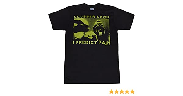 15fe64f2014b Amazon.com: Rocky Clubber Lang I Predict Pain T-Shirt: Clothing