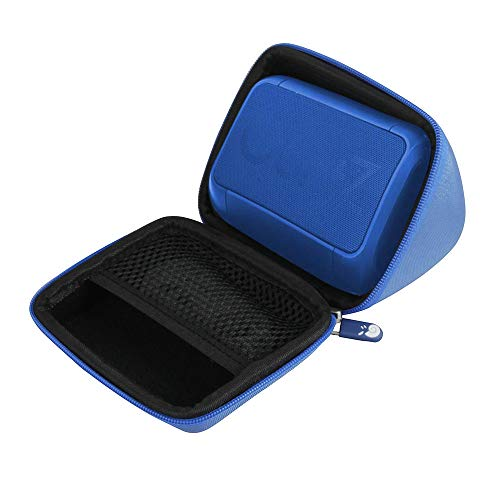 Hermitshell Hard Travel Case Fits OontZ Angle Solo Super Portable Bluetooth Speaker (Blue)
