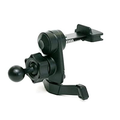i.Trek GPS air vent mount with metal spring clips compatible with Garmin Nuvi GPS: GPS & Navigation