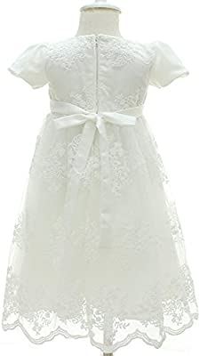 AHAHA Baptism Gowns for Baby Girls Princess Wedding Dress Baby Birthday Party Dresses for Special Occasion ZHHT388