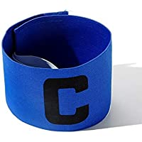 Cashwin Bright Colour Soccer Football Captain Armband Tape for Adult and Youth Fitness Band
