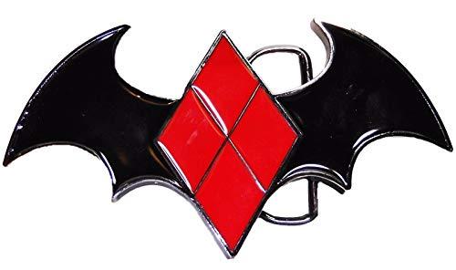 - Harley Quinn Die Cut Enamel Finish Metal Belt Buckle
