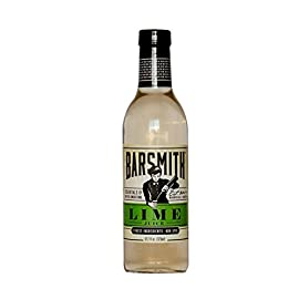 Barsmith Lime Juice 12.7 (Pack of 6) 26 From Gimlets to Daiquiris, Barsmith Sweetened Lime Juice is the perfect balance of tart and sweet