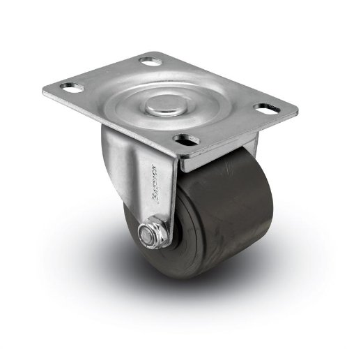 "2"" Polyolefin Wheel, Low Profile Swivel Plate Caster, 300 lbs Capacity from Access Casters Inc."