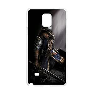 Dark Souls Samsung Galaxy Note 4 Cell Phone Case White custom made pgy007-9006372