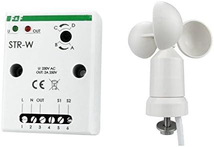 Wind grosor Detector Sensor Relé Controladores Wind Sensor Relé F & F STR de W 7766: Amazon.es: Iluminación